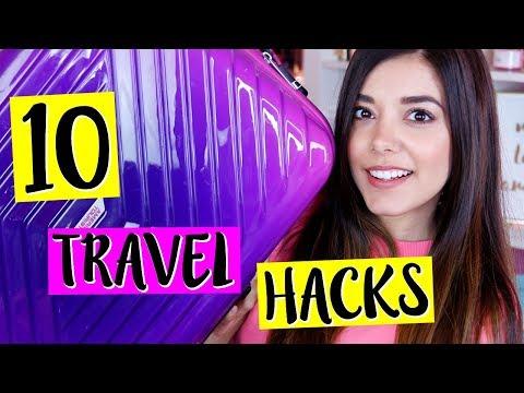 10 TRUCCHETTI per FARE LA VALIGIA PERFETTA! TRAVEL HACKS | Vanessa Ziletti