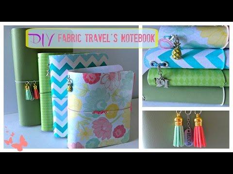 DIY Fabric Traveler's Notebook