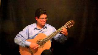 Guitar Etude 18 by Rafael Scarfullery, Classical Guitar Teacher, Composer, Charlottesville, Virginia