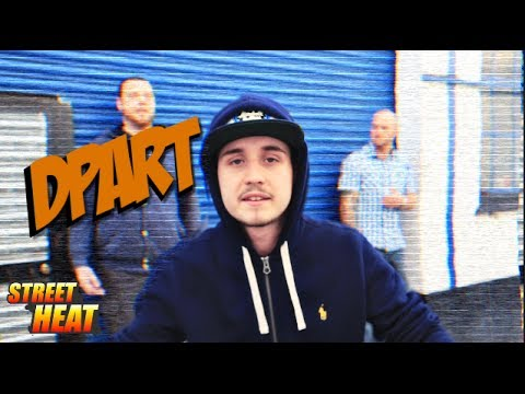 Dpart - #StreetHeat Freestyle [@DpartArtist]   Link Up TV