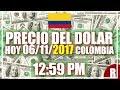 Precio del Dolar hoy en Colombia Hoy 06 de Noviembre del 2017