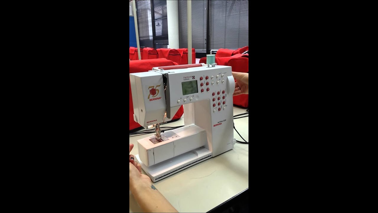How to put Bobbin Case in Machine Bernina Activa 230