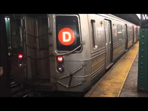 NYC Subway (A)(B)(C)(D)(E)(F)(M) West Fourth Street - Washington Square