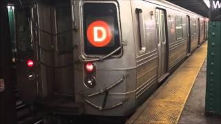 nyc subway a b c d e f m west fourth street washington square