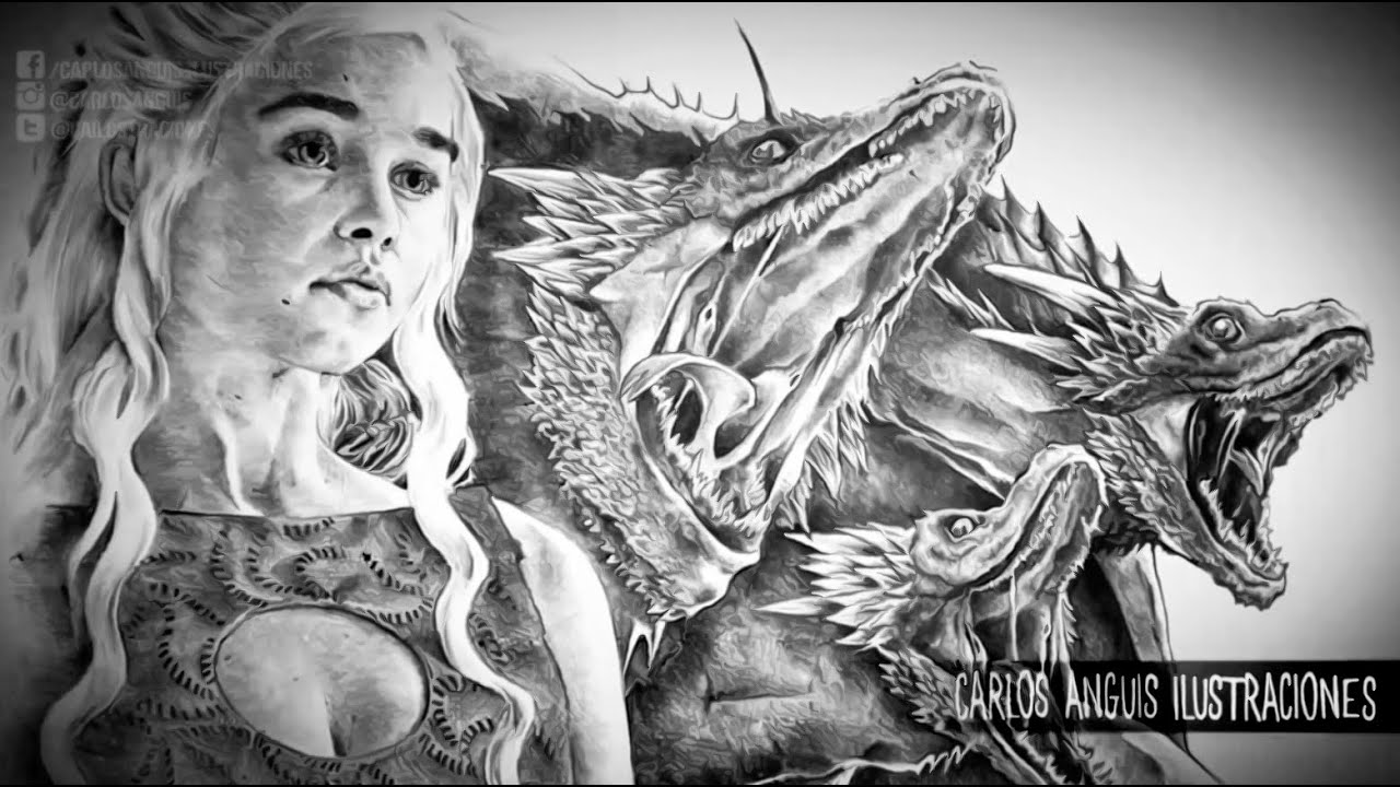 Game Of Thrones Dragon Coloring Pages