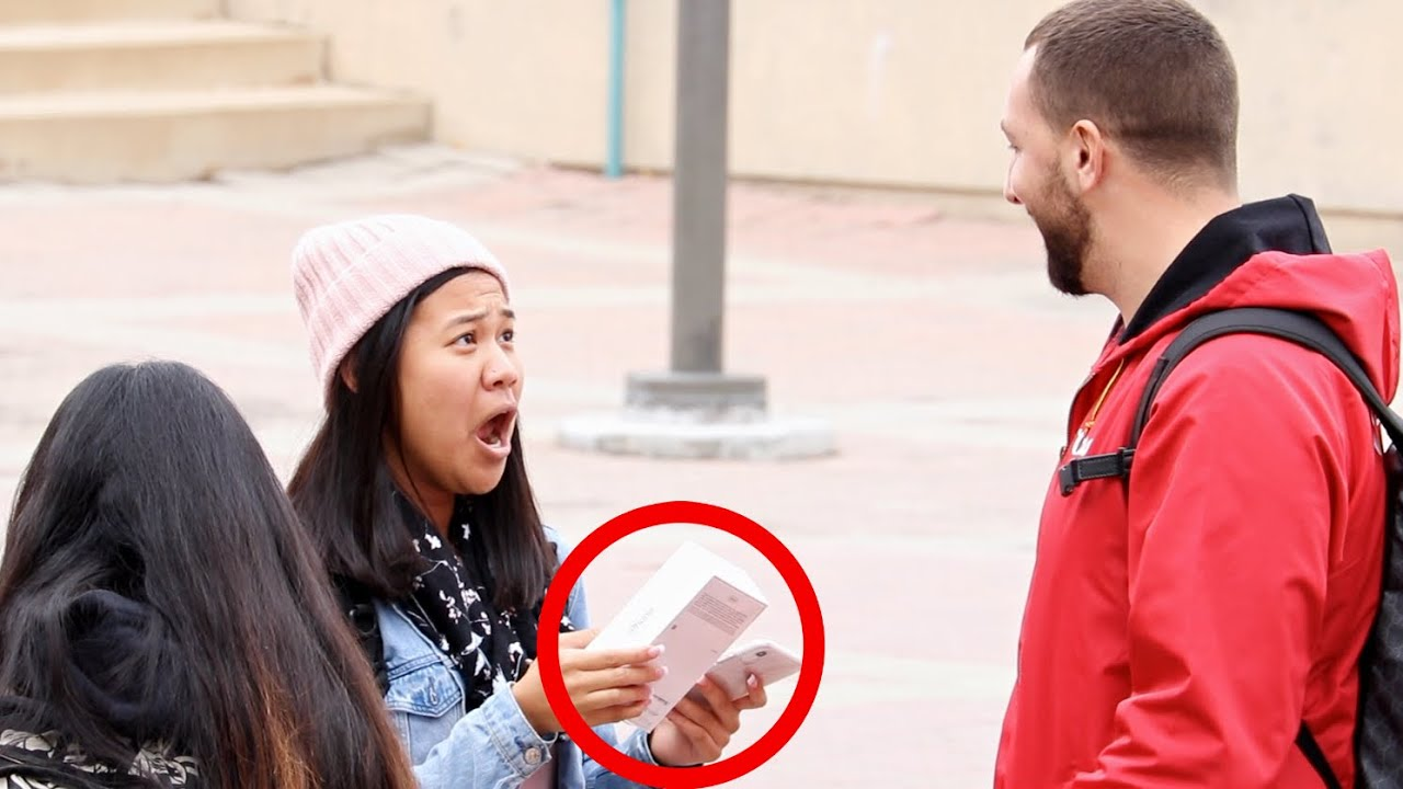 Download Giving The iPhone 11 To Strangers Who Give..