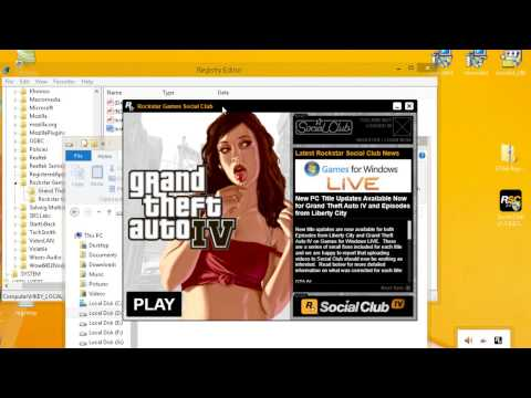 Fix GTA IV: RGSC error