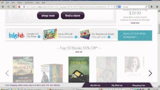How to find the cheapest lowest price items on chapters.indigo.ca and qualify for free shipping(, 2013-06-27T08:02:37.000Z)