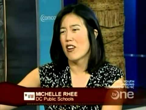 Waiting for Superman, Charter Schools And School Vouchers {Michelle Rhee}
