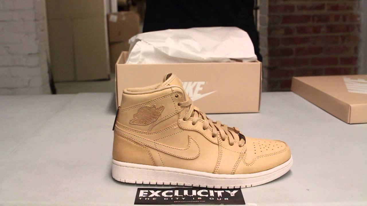 f5183a066fe Air Jordan 1 High OG Pinnacle - Vachetta Tan - Unboxing Video at Exclucity  - YouTube