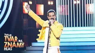 "David Kraus jako Freddie Mercury – ""I Want To Break Free"" | Tvoje tvář má známý hlas"
