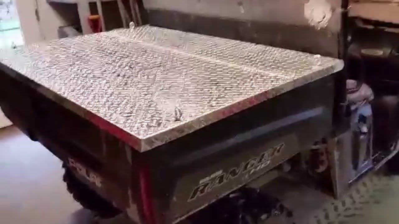 Polaris Ranger Bed Cover Youtube