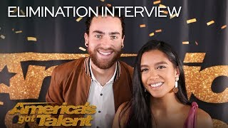 Elimination Interview: Us The Duo Recall Their AGT Experience - America's Got Talent 2018