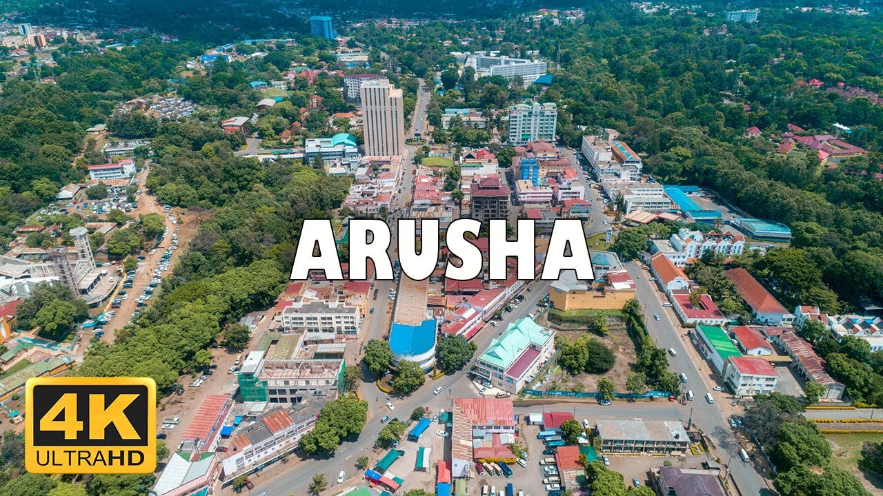 Download Arusha city, Tanzania 🇹🇿   4K Drone Footage