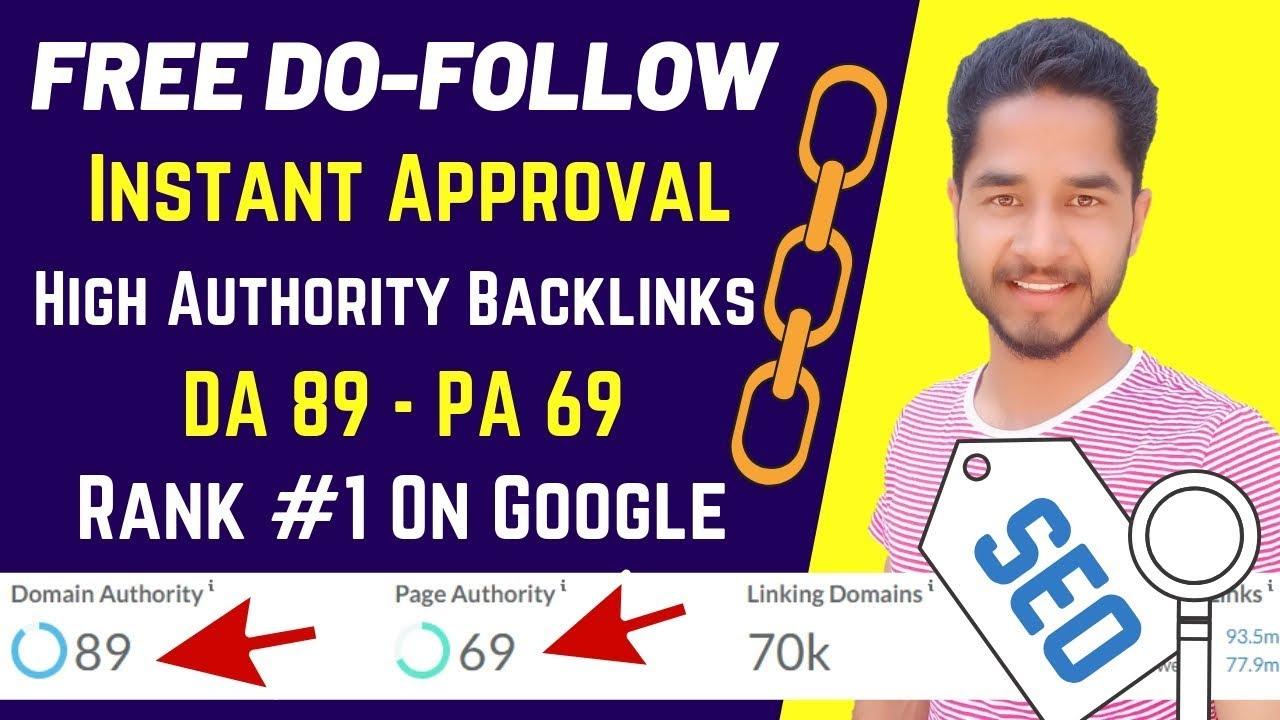DA 93 1x Do-Follow Backlink SEO high quality