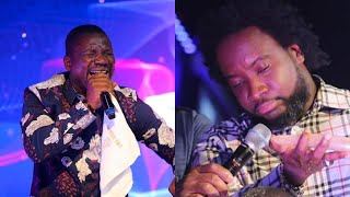 Dr Sonnie Badu in tears as Francis Amo ministers powerfully at His Church in America