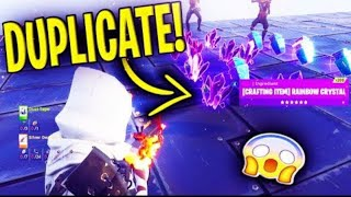 NEW DUPLICATION GLITCH HURRY BEFORE IT GETS PATCHED!!! Fortnite save the world!