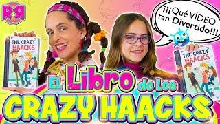 🤪 El libro de THE CRAZY HAACKS 😹 BROMAS graciosas con libros de YOUTUBERS 📚 Retos divertidos LOCOS