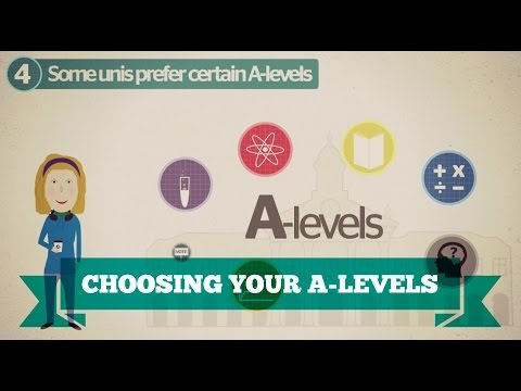 What A level subjects should i take?