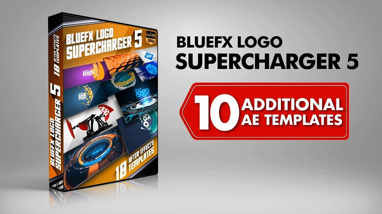 Bluefx - Logo Supercharger 5 After Effect Template » Free