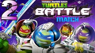 Ninja Turtles in Space: Battle Match gameplay Part 2