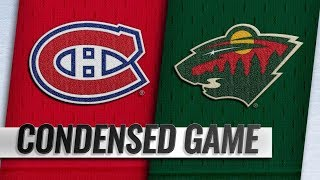 Montreal Canadiens vs Minnesota Wild | Dec.11, 2018 | Game Highlights | NHL 2018/19 | Обзор матча