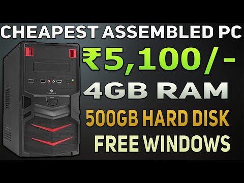 Wintech Assemble Desktop pc Cpu 500 GB SATA HDD 4 GB Ram Intel C2D Processor 3 0 GHz G 31 Motherboar