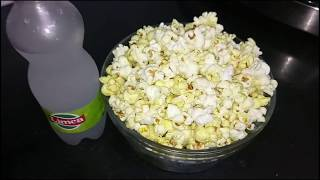 Classic butter popcorn Recipe in Hindi, homemade popcorn  in cooker in 1 min.