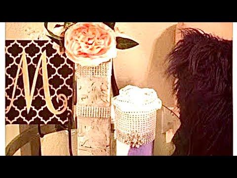 On A Budget? DIY Dollar Tree Glam Centerpieces Wedding Decor Ideas Creating Elegance For Less 2018