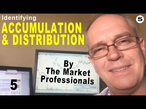 Identifying Accumulation and Distribution By the Market Professionals