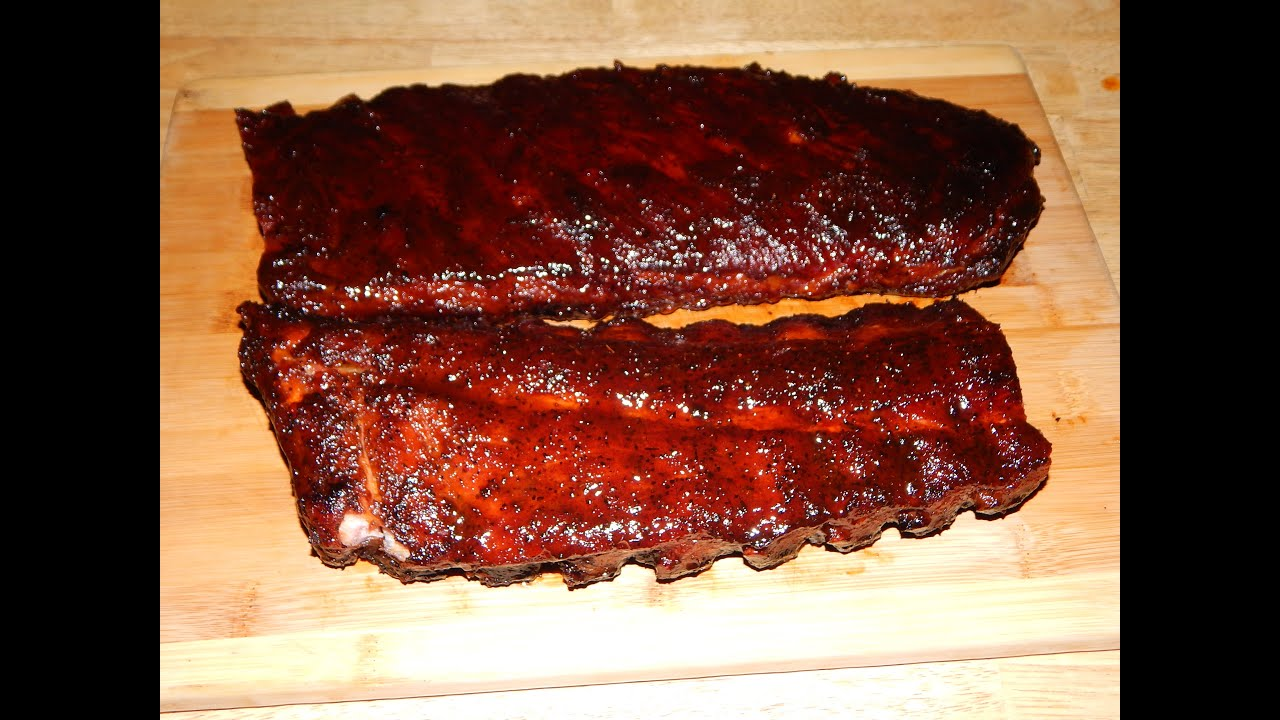 Smoked St. Louis Spares and Baby Back Ribs - Pit Barrel