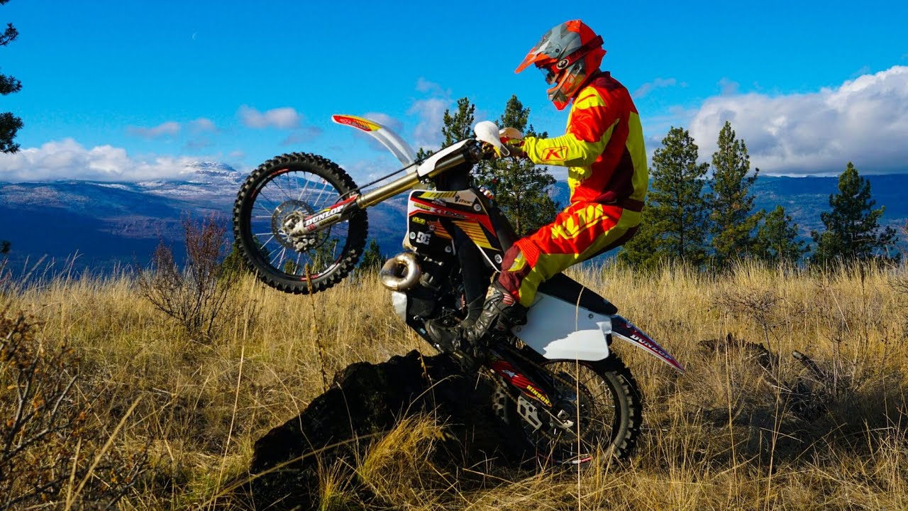 Honda Cr500 Ktm 300 Dirt Bike Enduro Mountain Chaos Youtube