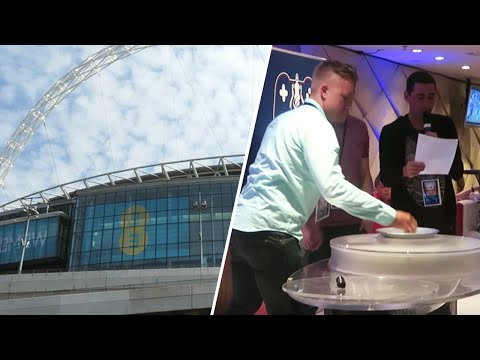 I DID THE EMIRATES FA CUP DRAW AT WEMBLEY?!