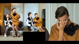 Millie Bobby Brown screams after being scared!