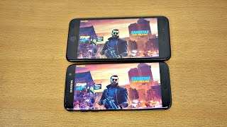 Gangstar 5 New Orleans Samsung Galaxy S7 Edge vs iPhone 7 Plus Gameplay! Android & iOS (4K)