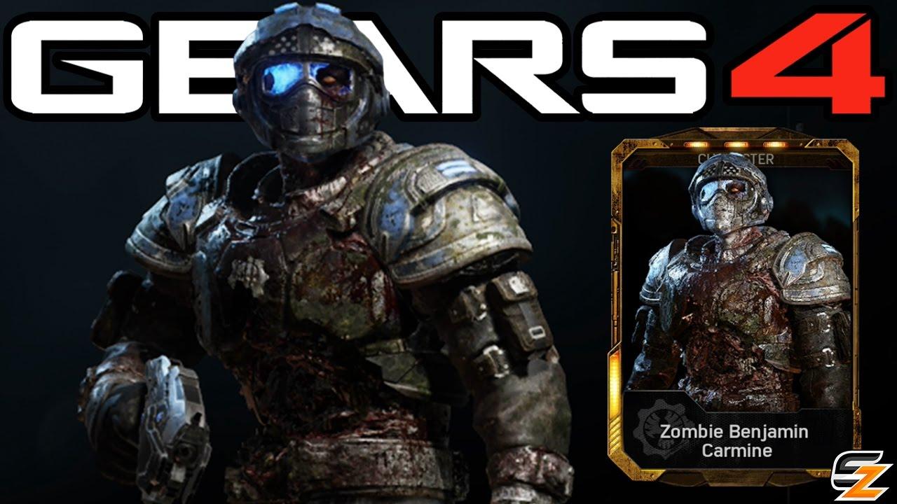 Gears Of War 4 Zombie Benjamin Carmine Character