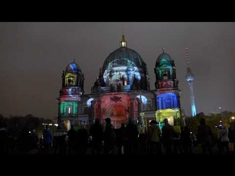 Festival of Lights Berliner Dom / Music: Blue Danube Waltz