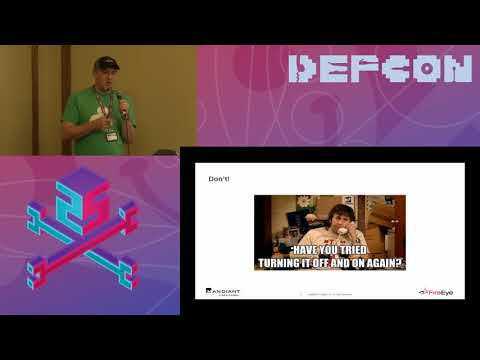 DEF CON 25 ICS Village - Chris Sistrunk - What's the DFIRence for ICS