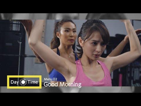 トレーナー・AYA、舞川あいくのヒップアップトレーニングを指導 WEB動画『寝ながらメディキュット ヒップシェイプアップスパッツ』