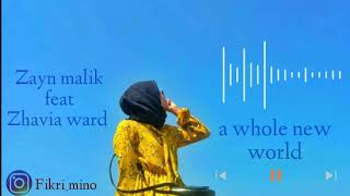Zayn Malik feat zavia Ward - a whole new word
