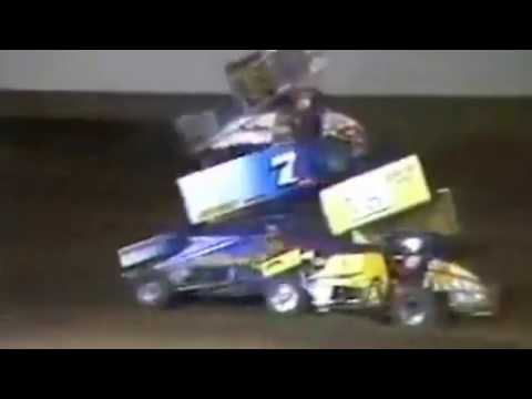Mike Sargent 1988 - His Final San Jose Speedway A-Main Win