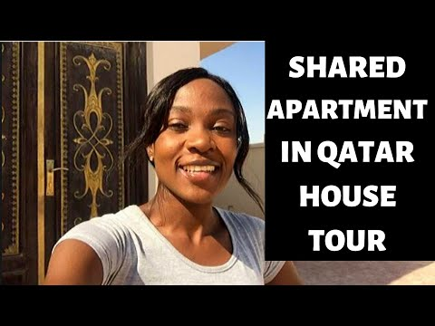 SHARED ACCOMMODATION IN QATAR | How does a Staff Accommodation look like? | House Tour