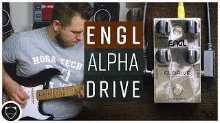 They Make Pedals Too?! | ENGL Custom Alpha Drive Demo
