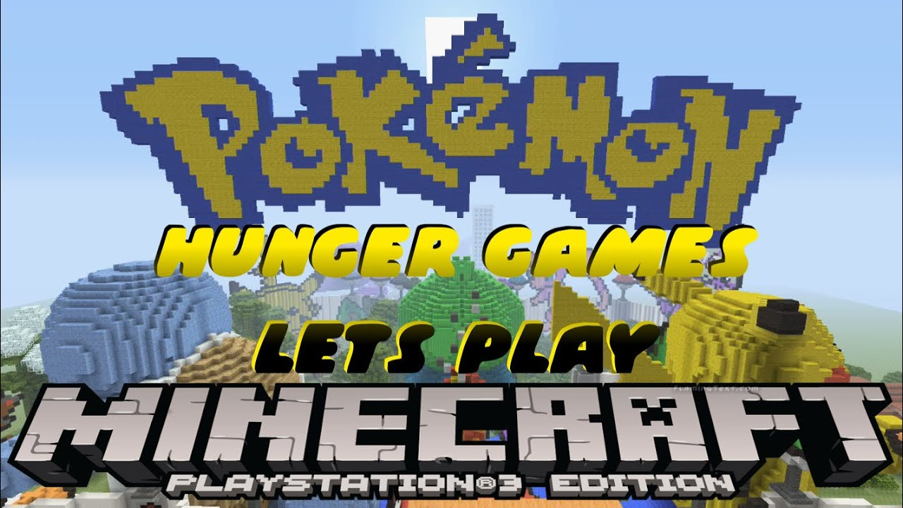POKEMON HUNGER GAMES LETS PLAY MINECRAFT PS PS EU US DISC - Hunger games mapped on us