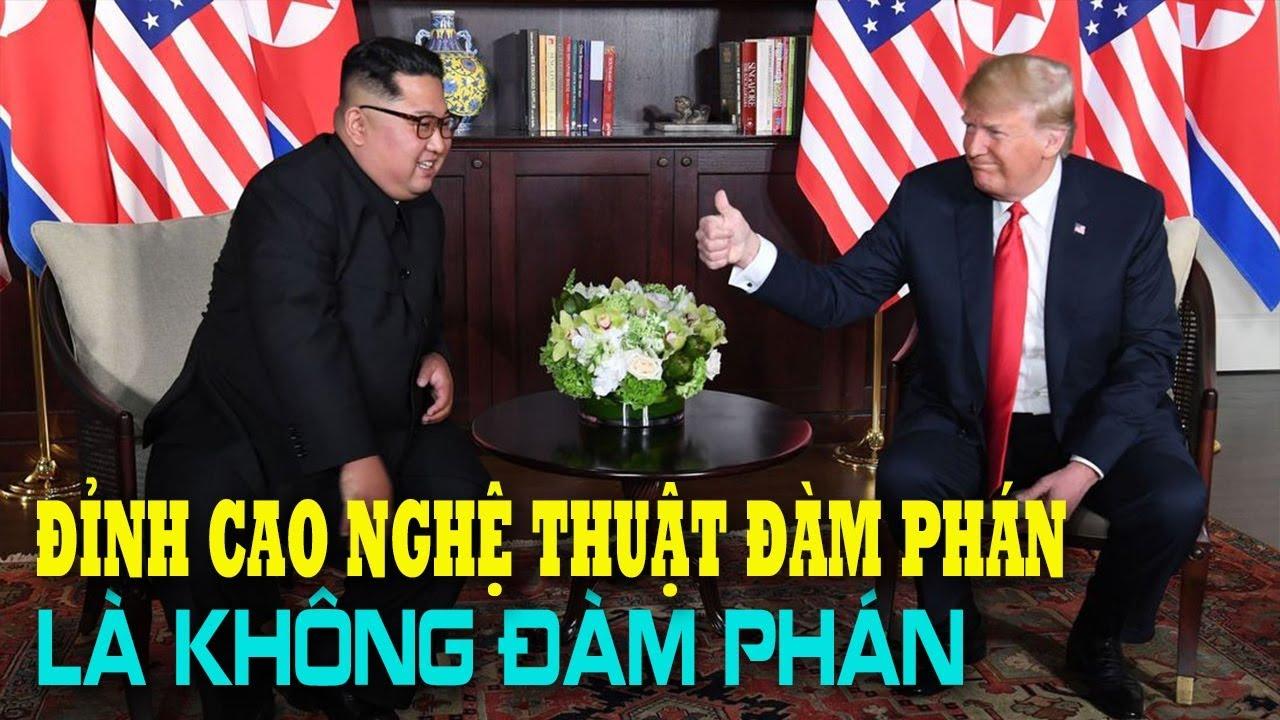 Đỉnh cao của Nghệ thuật đàm phán của Donal Trump: Không đàm phán!