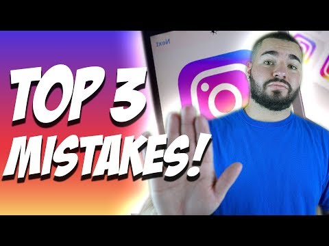 TOP 3 Mistakes That Will Get You BANNED From Instagram