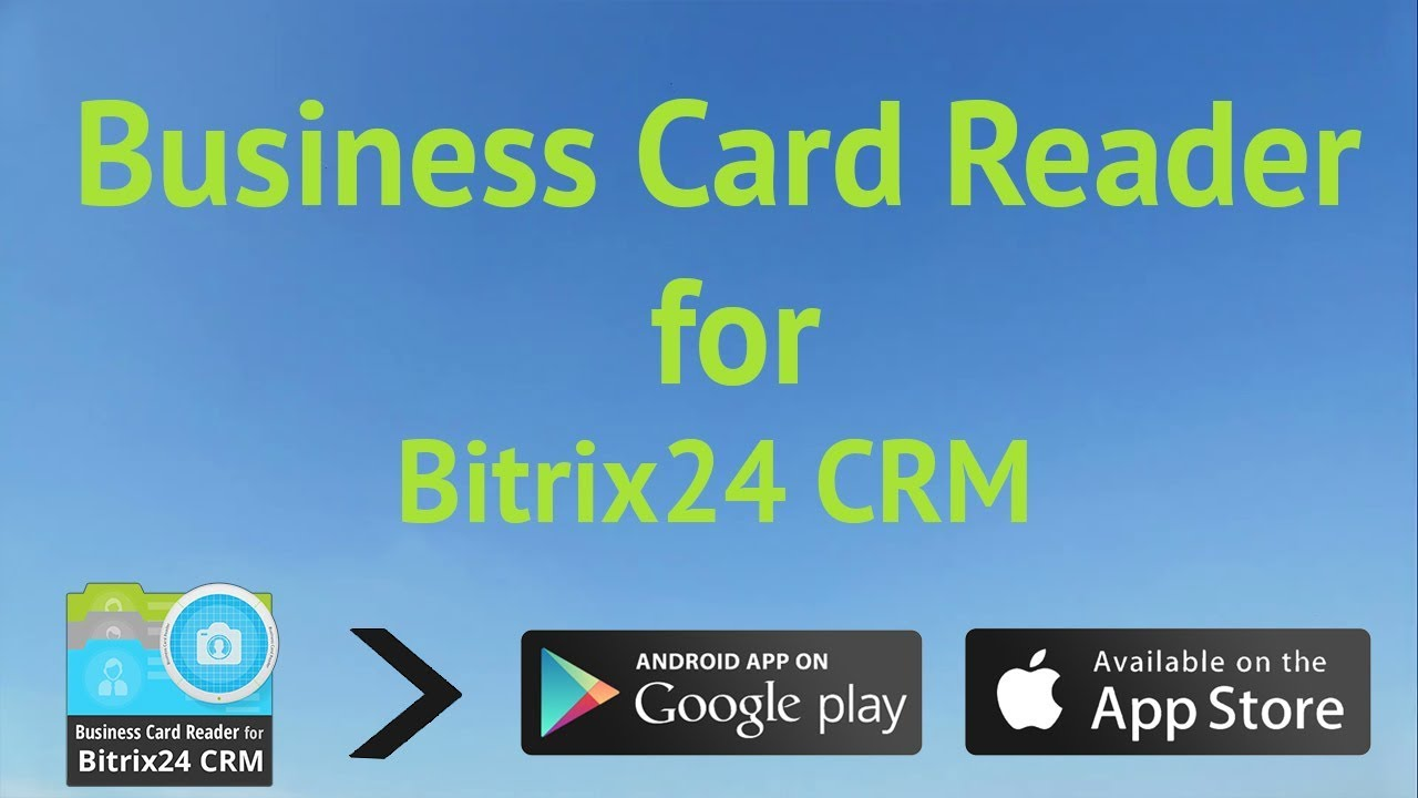 Business Card Reader for Bitrix24 CRM - YouTube