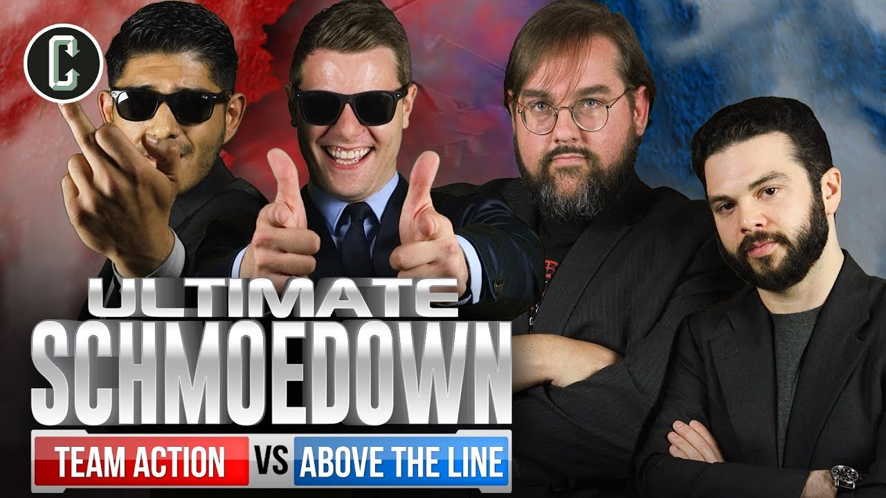 Movie Trivia Schmoedown: Team Finals- Above The Line vs Team