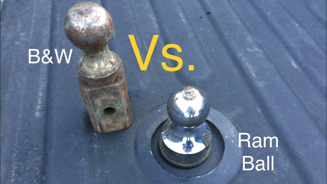 2017 Dodge 3500 >> B&W Turnoverball Hitch Install and Ram Ball Comparison ...