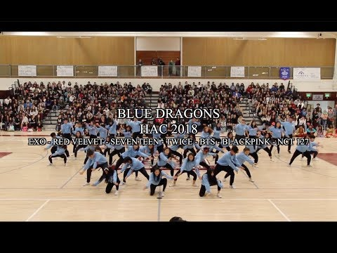 BLUE DRAGONS HAC 2018